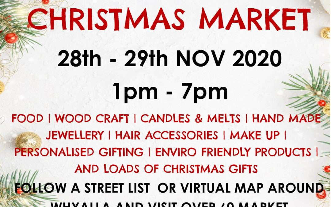 Whyalla Twilight Christmas Stall Crawl